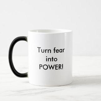 Transforming into Power mug