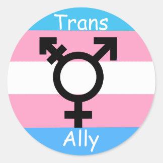 Transgender Ally Awareness Pride Sticker