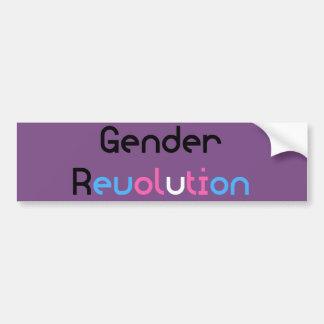 Transgender MTF FTM Awareness Pride Bumper Sticker