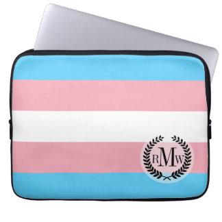 Transgender Pride Flag Computer Sleeves