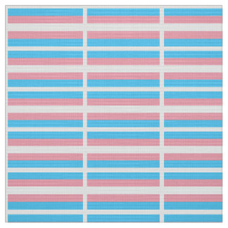 Transgender Pride Flag Fabric