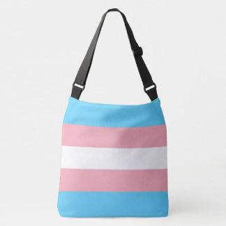 Transgender Pride Flag LGBT All-Over Print Crossbody Bag