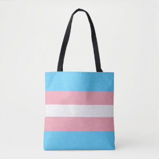 Transgender Pride Flag Tote Bag