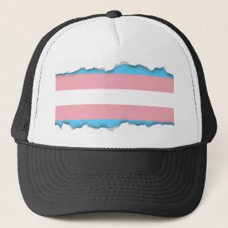 Transgender Pride Flag Trucker Hat