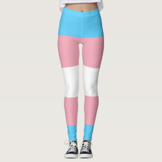 Transgender Pride Leggings