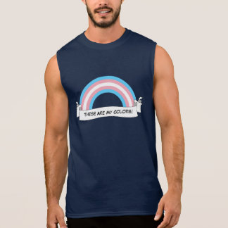 Transgender rainbow pride Tank Top