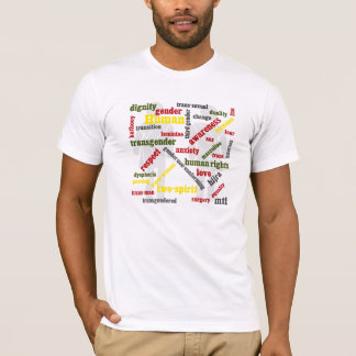 transgender word graphic shirt