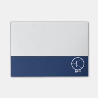 Transistor - NPN Post-it Notes