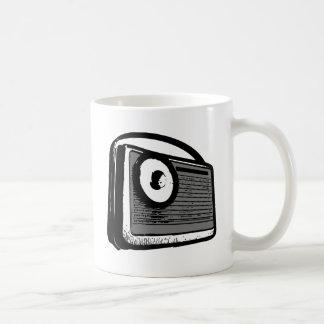 TRANSISTOR RADIO PORTABLE COFFEE MUGS