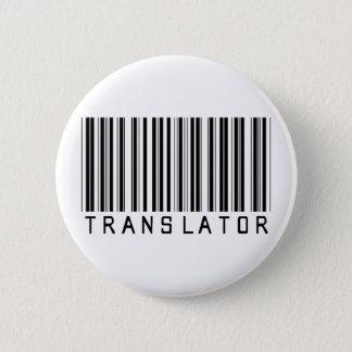 Translator Barcode 6 Cm Round Badge