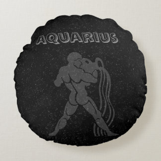 Translucent Aquarius Round Cushion