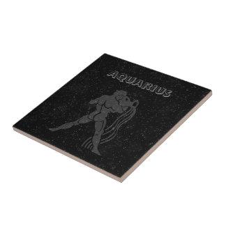 Translucent Aquarius Small Square Tile
