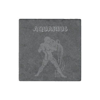 Translucent Aquarius Stone Magnet