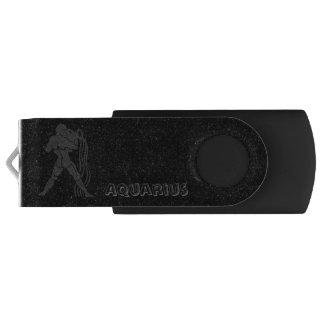 Translucent Aquarius Swivel USB 3.0 Flash Drive