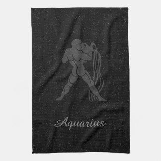 Translucent Aquarius Tea Towel