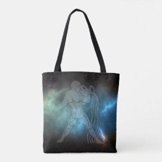 Translucent Aquarius Tote Bag