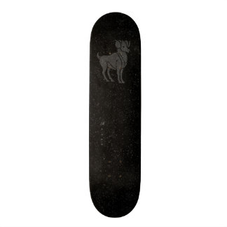 Translucent Aries 21.6 Cm Skateboard Deck