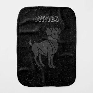 Translucent Aries Burp Cloth