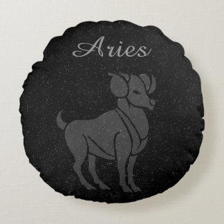 Translucent Aries Round Cushion