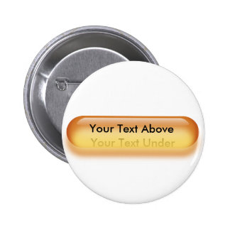 Translucent button in yellow button badge name tag