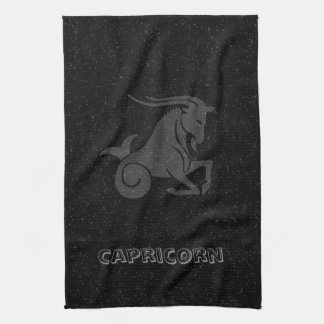 Translucent Capricorn Tea Towel