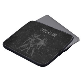 Translucent Gemini Laptop Sleeve