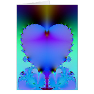 Translucent Heart Card