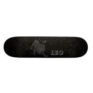 Translucent Leo Custom Skateboard