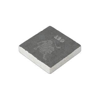 Translucent Leo Stone Magnet