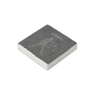 Translucent Libra Stone Magnet