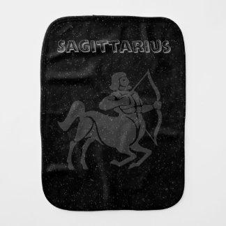 Translucent Sagittarius Burp Cloth