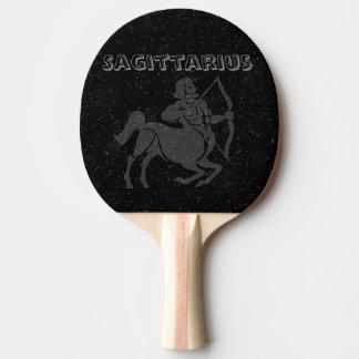 Translucent Sagittarius Ping Pong Paddle