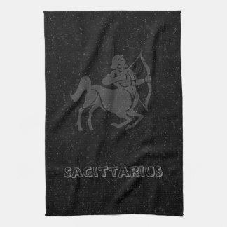Translucent Sagittarius Tea Towel