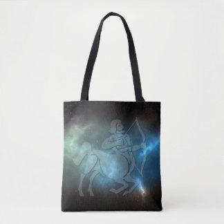 Translucent Sagittarius Tote Bag