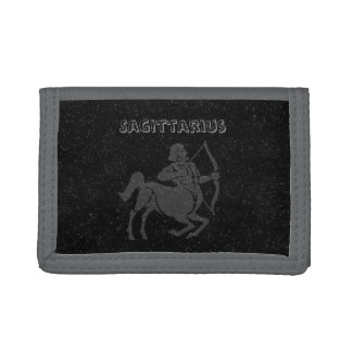Translucent Sagittarius Tri-fold Wallet
