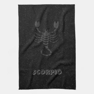 Translucent Scorpio Tea Towel