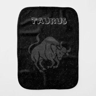 Translucent Taurus Burp Cloth