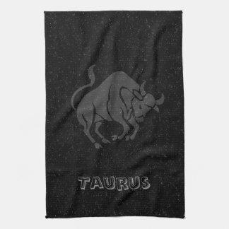 Translucent Taurus Tea Towel