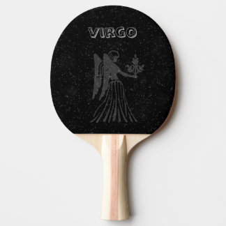 Translucent Virgo Ping Pong Paddle