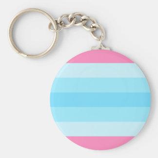 transmasculine flag key ring