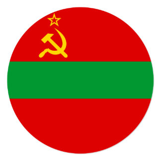 Transnistria Flag Card