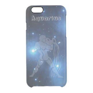 Transparent Aquarius Clear iPhone 6/6S Case