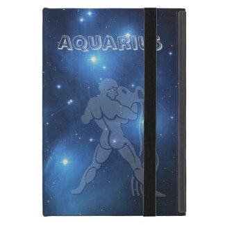 Transparent Aquarius Cover For iPad Mini