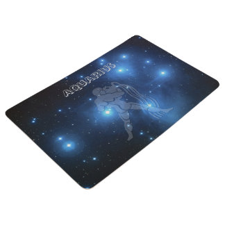 Transparent Aquarius Floor Mat