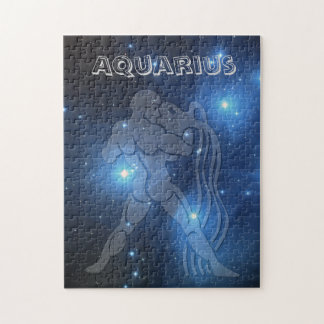 Transparent Aquarius Jigsaw Puzzle
