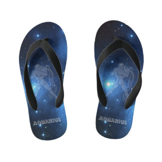Transparent Aquarius Thongs
