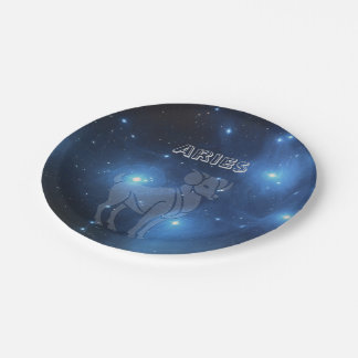 Transparent Aries Paper Plate