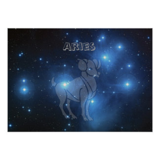 Transparent Aries Poster