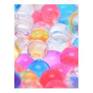 transparent balls postcard