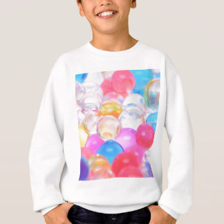 transparent balls sweatshirt